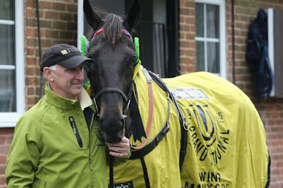 Many Clouds Touches the Sky for Oliver Sherwood (2015 Grand National Winner)