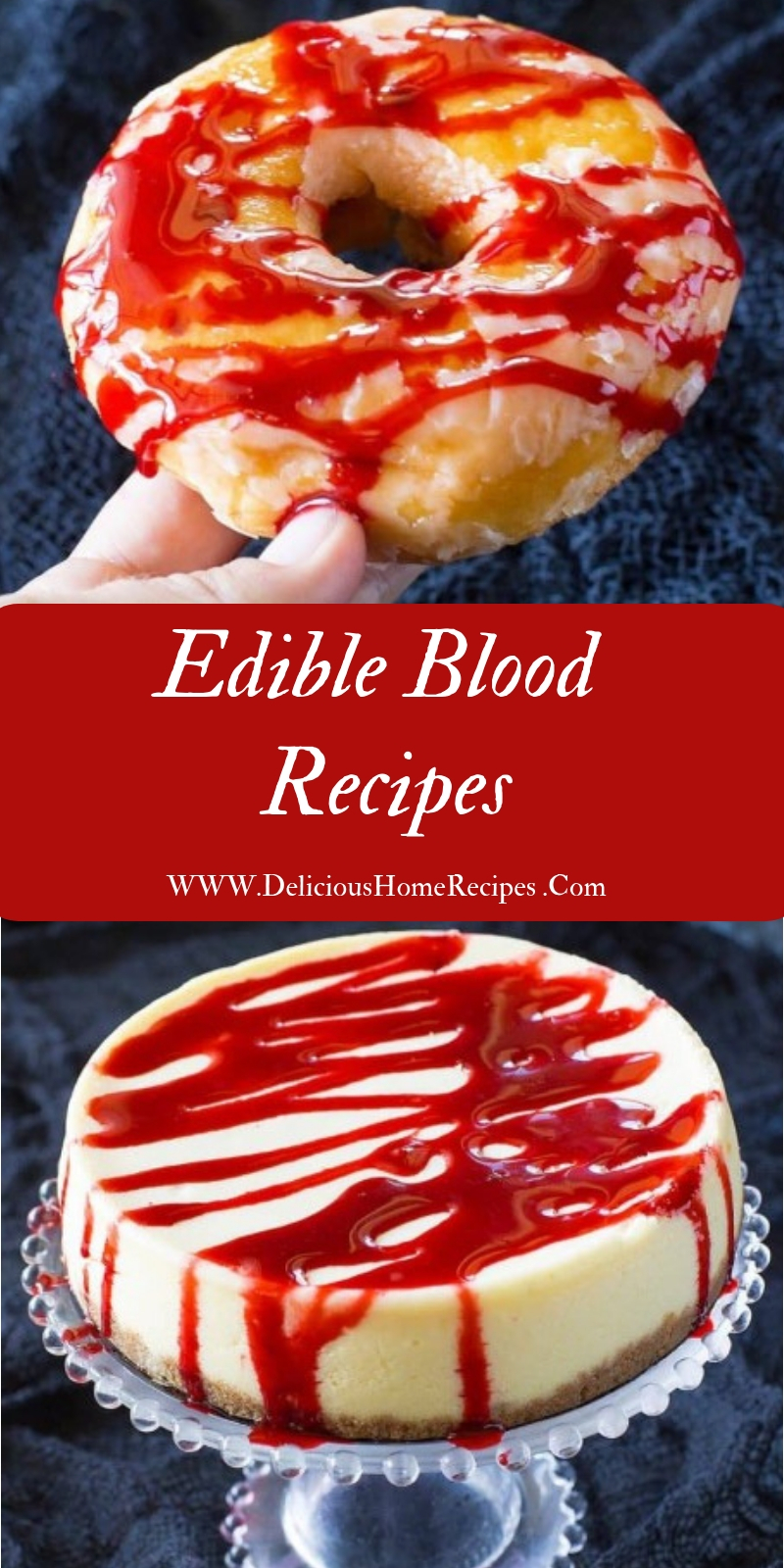 Edible Blood Recipes #christmas #dessert