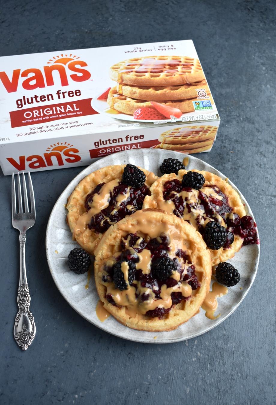 Gluten-Free Berry Waffles