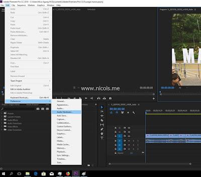 Mengatasi Playback Error Pada Adobe Premiere Pro CC 2018