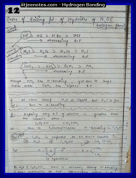 hydrogen bonding chemistry2