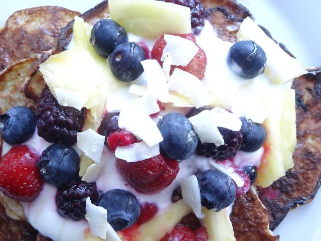 Tropical Banana Pancake Recipe