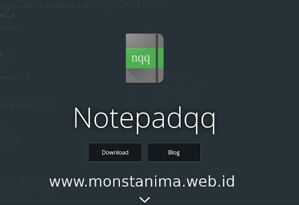 Install Notepadqq Aplikasi Pengolah Text Untuk Linux Mint, yang Lebih Baik Dari Notepad++