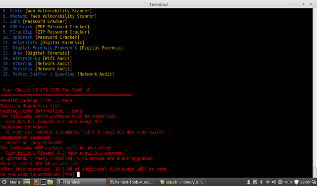 Pentest-Tools-Auto-Installer - A Simple Tool For Installing Pentest