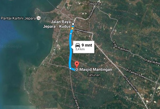 Wisata Ke Masjid Mantingan