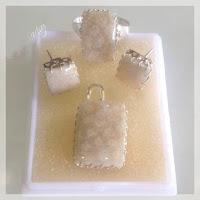 Jual Set Perhiasan Perak Batu Akik Model Kotak