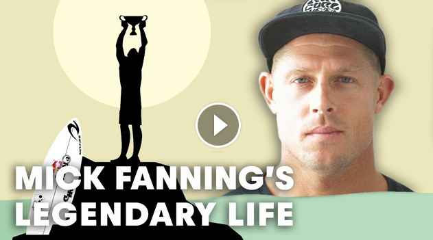 STORY OF A LEGEND Mick Fanning s life gets animated