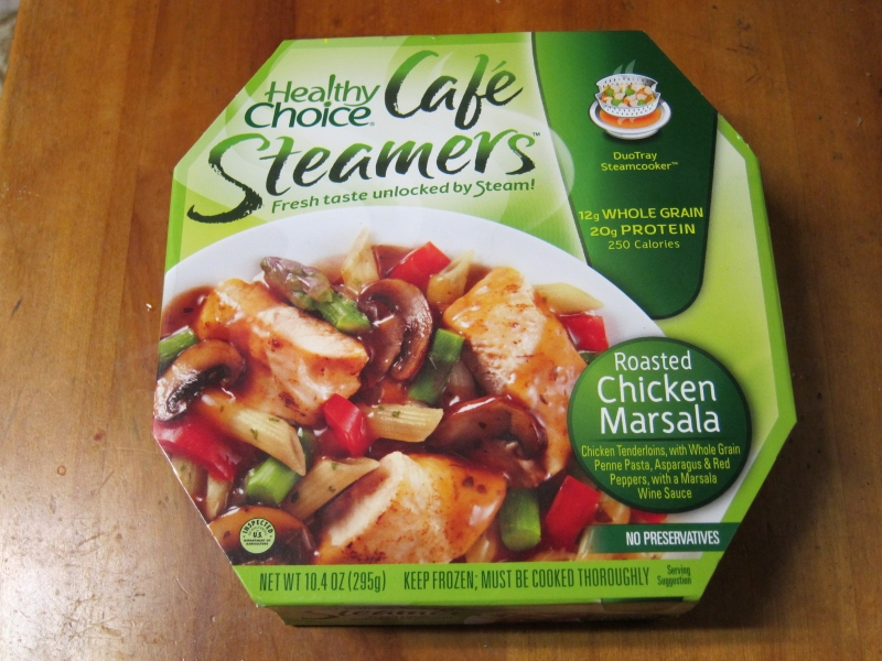 Frozen Friday Healthy Choice Roasted Chicken Marsala Brand Eating