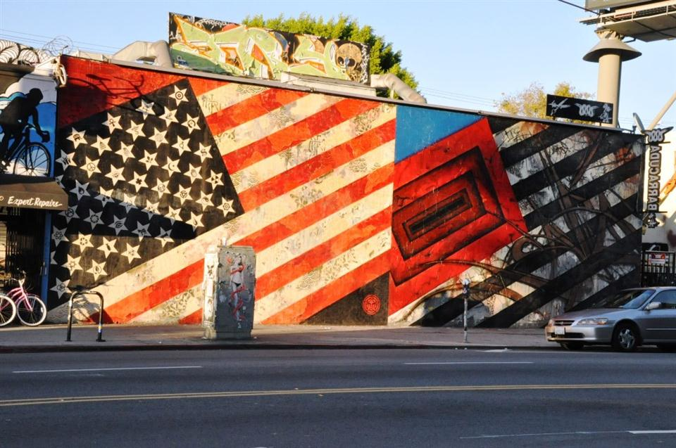 american flag graffiti - photo #20