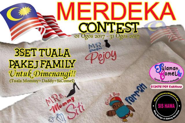 Sulaman Comel Merdeka Contest | 31 August 2017