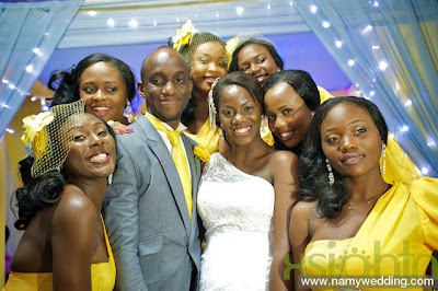 Pictures From Obiwon's Church Wedding & Reception. 38