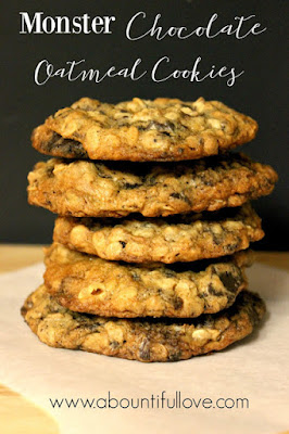 http://www.abountifullove.com/2016/02/monster-chocolate-oatmeal-cookies.html