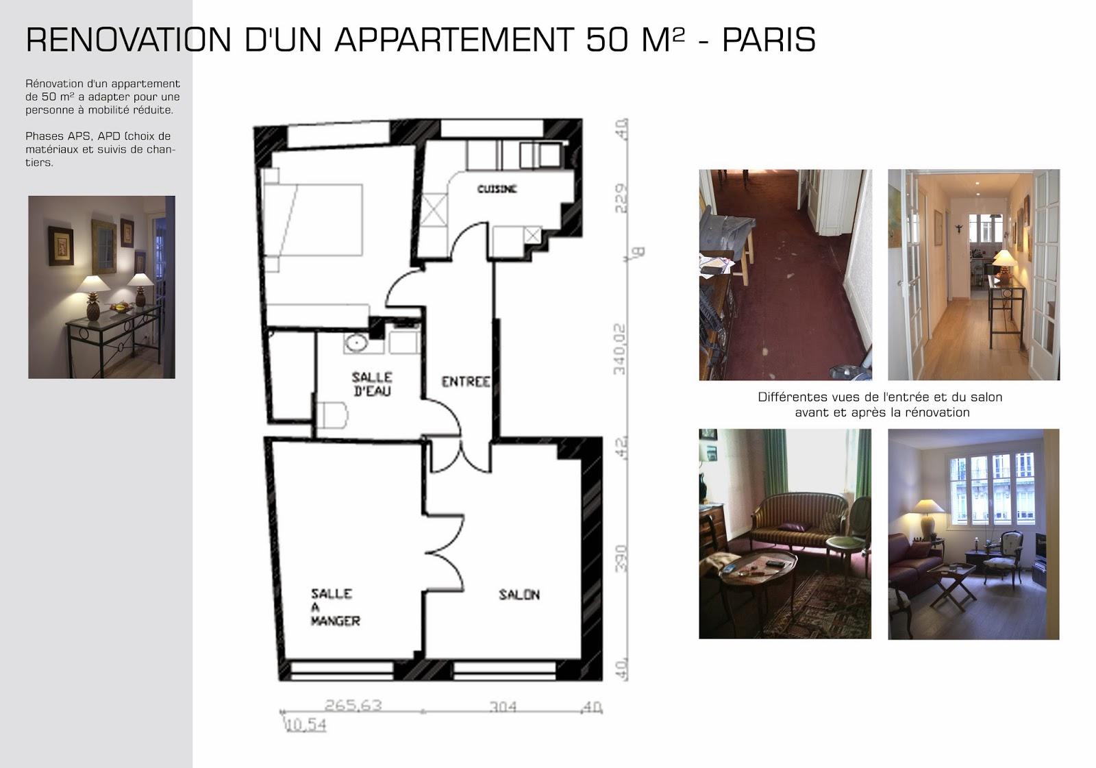 Book Architecte D Intérieur book: rénovation appartement pour personne à mobilité réduite