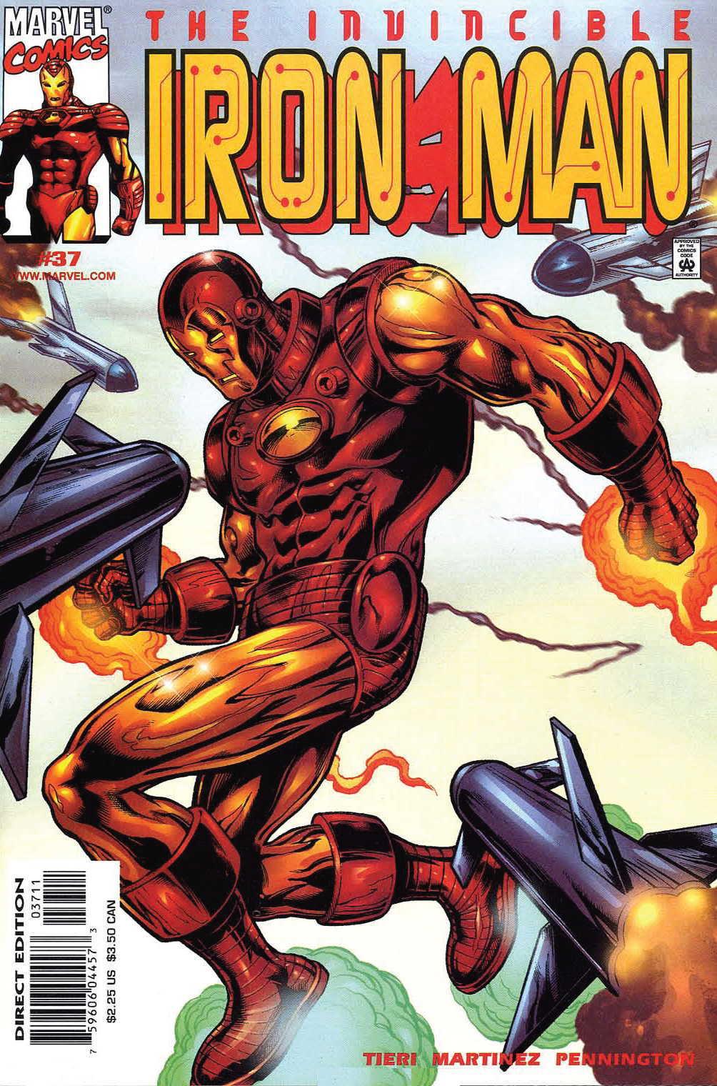 Iron Man (1998) 37 Page 1