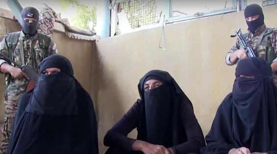 ISIS fighters disguised as women captured while attempting to flee Manbij, Syria