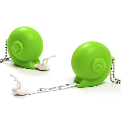 Snail Tape Keychain