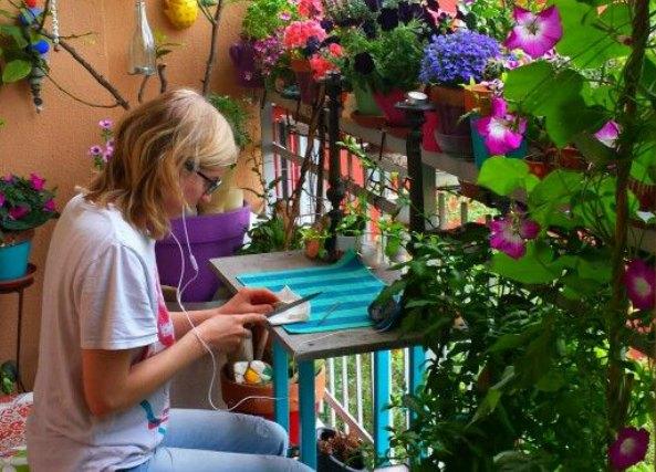 Como decorar balcones o terrazas mini de ciudad 187 ideas