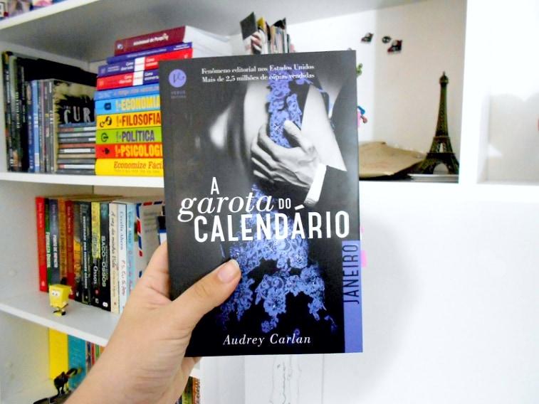 capa do livro A garota do calendário janeiro