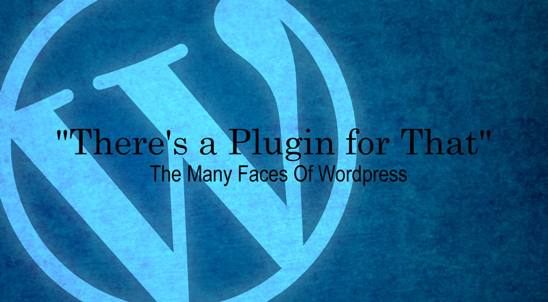 There's a Plugin for That - The Many Faces Of Wordpress