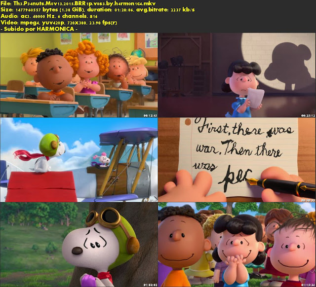 Descargar The Peanuts Movie Subtitulado por MEGA.