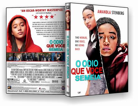 CAPA DVD – O Odio que Voce Semeia – ISO