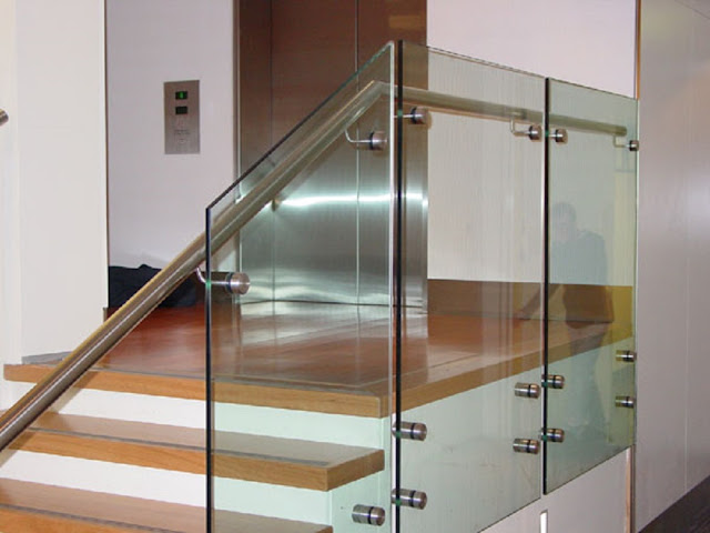 Glass Balustrades in Home