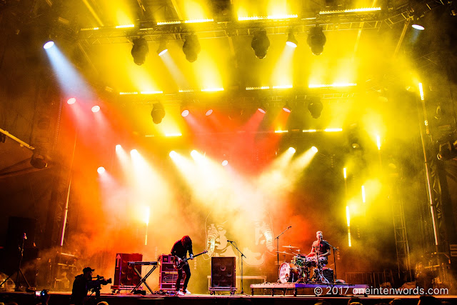Death From Above 1979 at Osheaga on August 6, 2017 Photo by John at One In Ten Words oneintenwords.com toronto indie alternative live music blog concert photography pictures photos