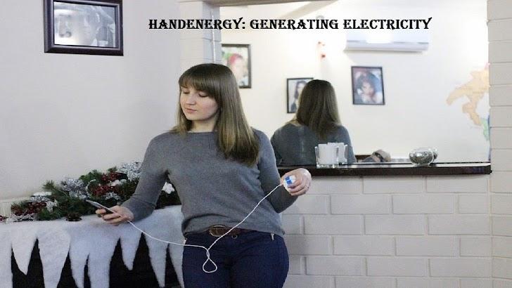 Gerakin Tangan dan Ponsel Terisi Daya | HandEnergy