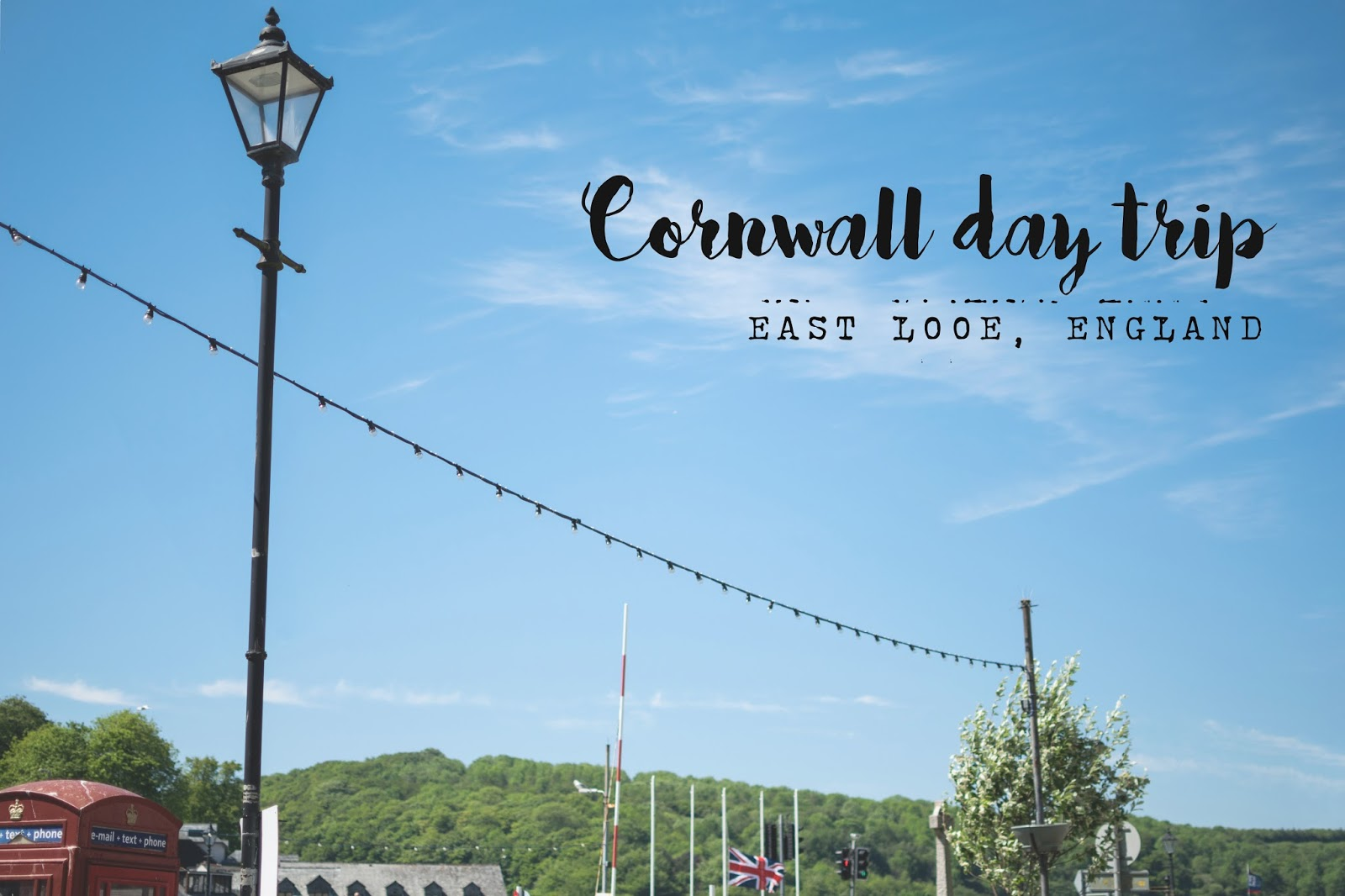 Cornwall day trip - East Looe, England