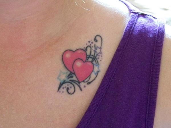 Verführerische Herz-Tattoos für Frauen 6