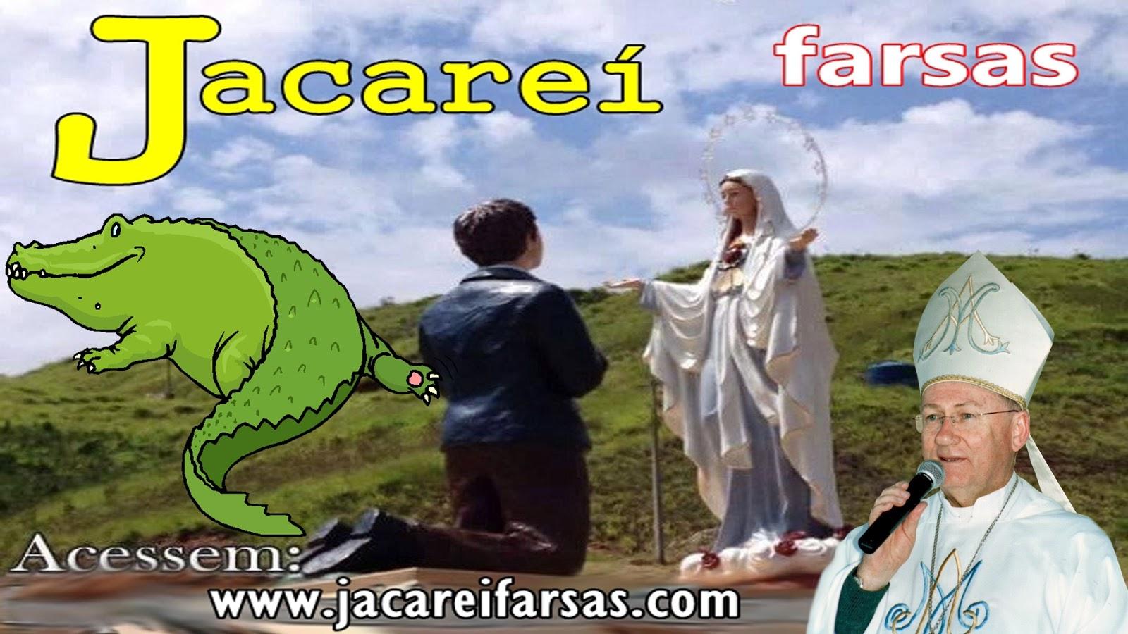 /jacareiencantado, Santuário das Aparições de Jacareí SP. são falsas. são verdadeiras, farsa, photoshop, segredo - procissão, seita, corvos, comunista,  verdadeiras farsa