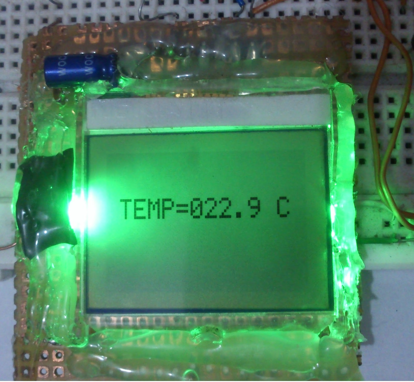 Pic16f84 Circuit For Lcd Nokia
