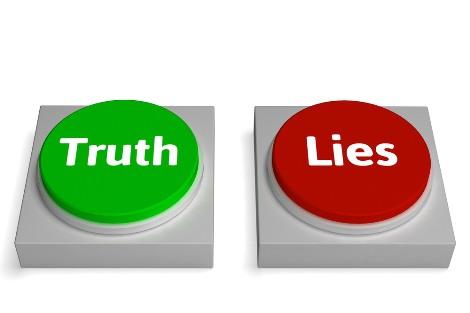kejujuran kalah oleh kebohongan