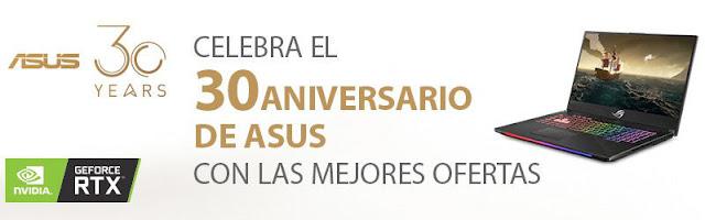 Top 10 ofertas Semana Especial Asus de PcComponentes