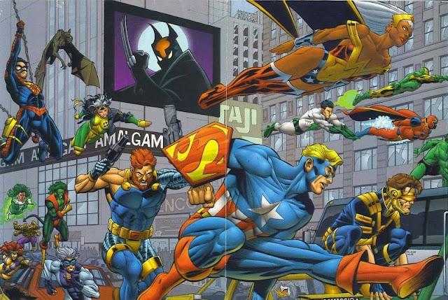 Mengenal Amalgam Comics, Kerjasama Antara Marvel dan DC
