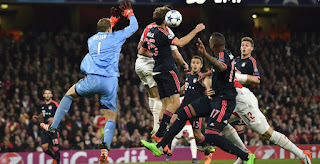 Prediksi Arsenal vs Bayern Munich, 8 Maret 2017