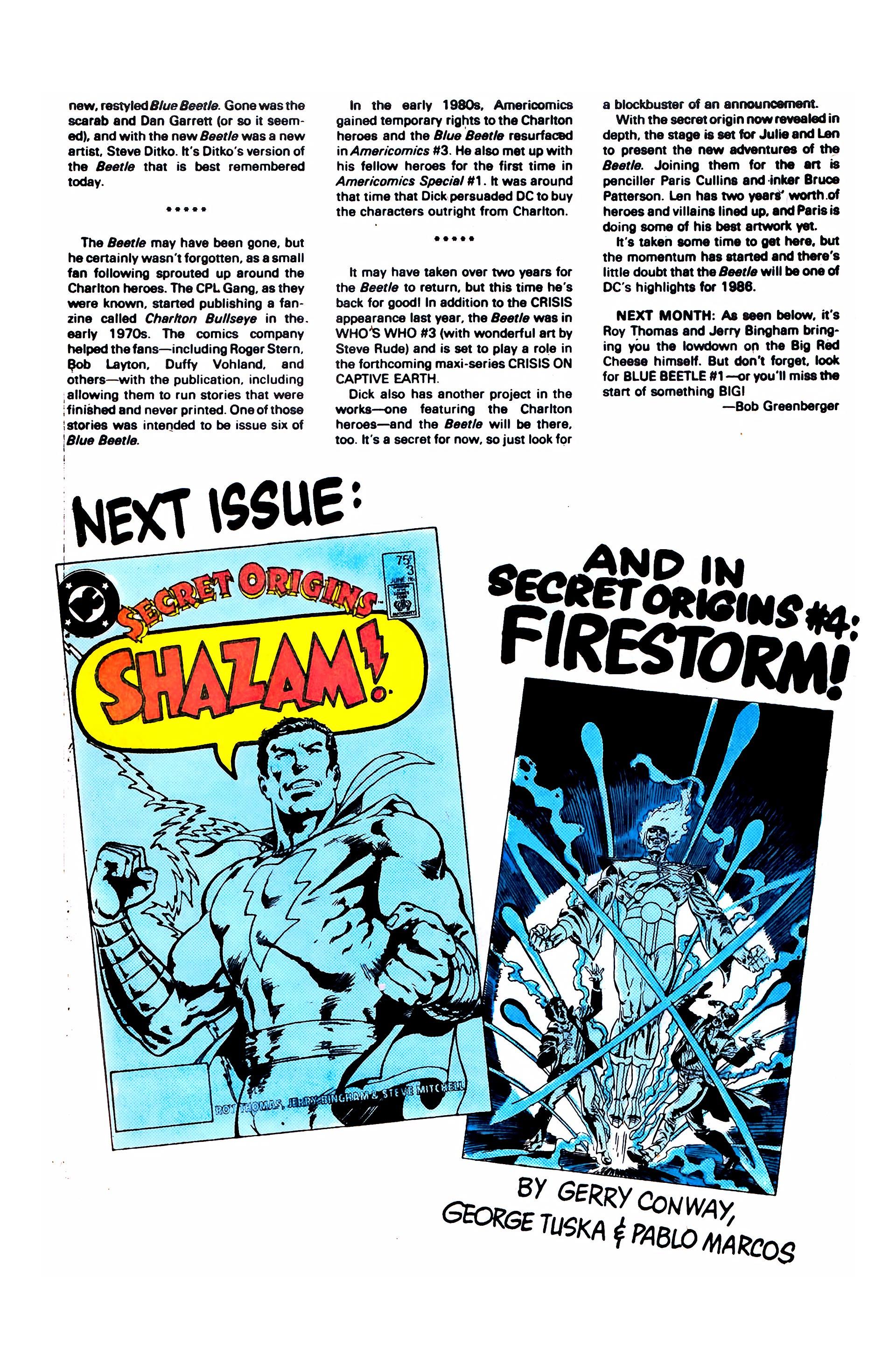Read online Secret Origins (1986) comic -  Issue #2 - 33
