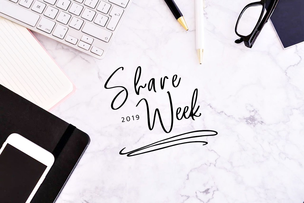 Share Week 2019 - moje TOP 3!