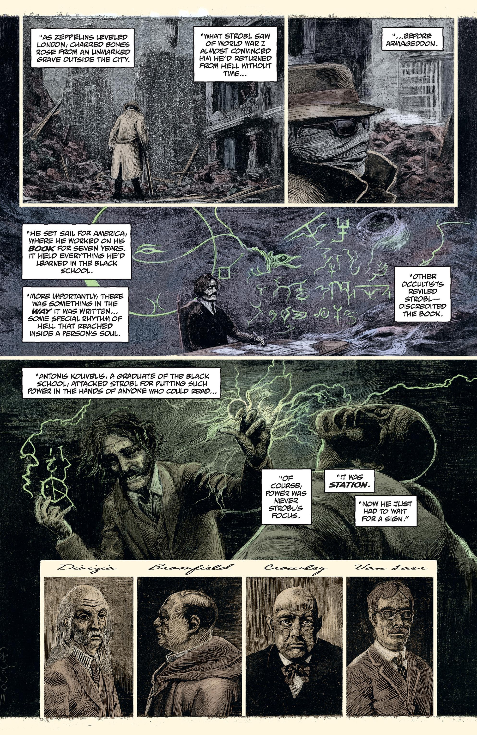 Read online Abe Sapien comic -  Issue #30 - 18