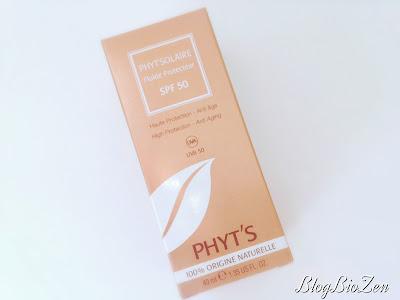 Fluide solaire SPF 50 bio - Phyt's