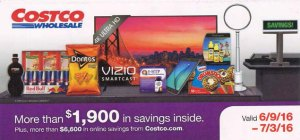 Current Costco Coupon June 2016