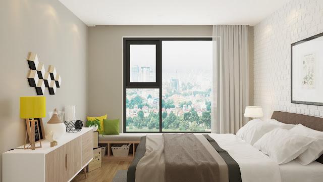 Phòng ngủ chung cư An Bình City