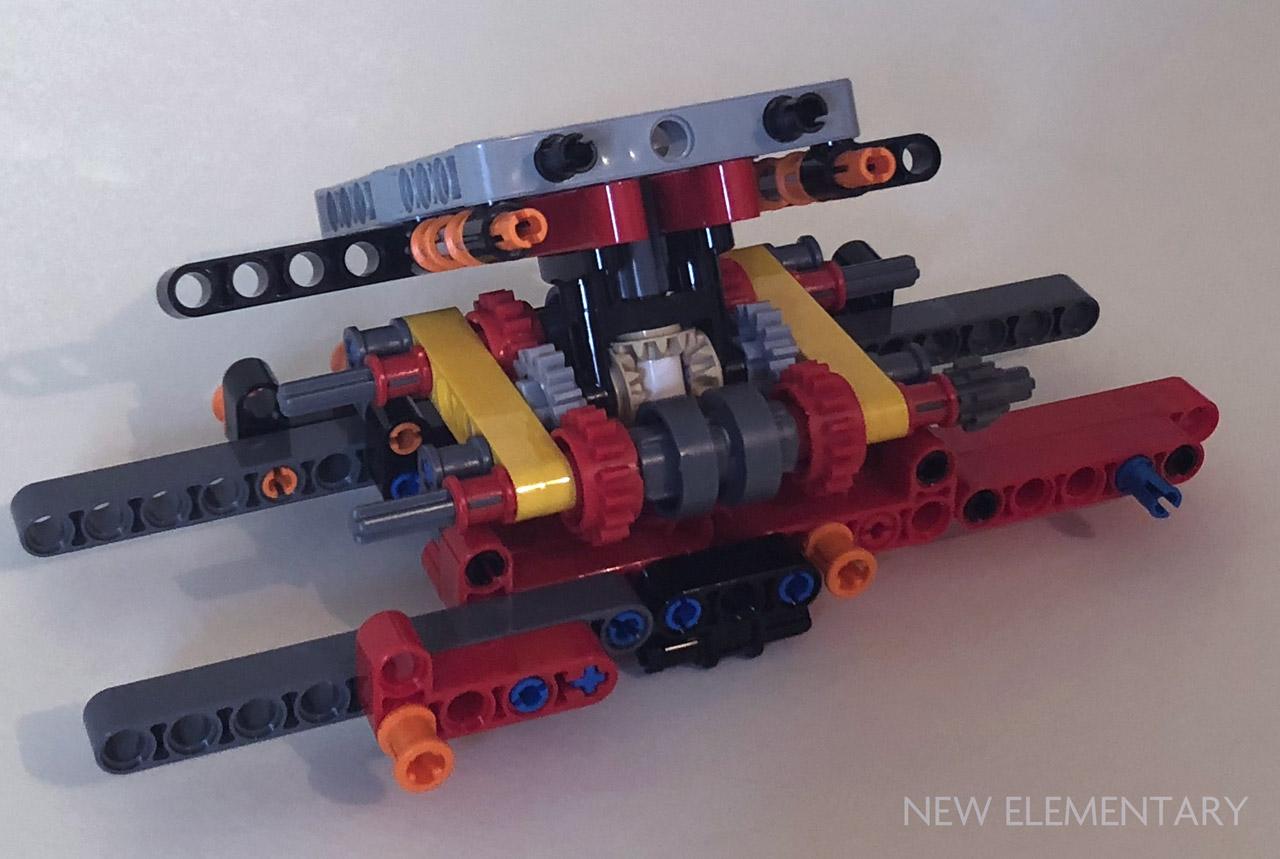 Lego Technic 42082 Rough Terrain Crane New Elementary A Lego
