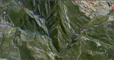 El Río Escabas a vista de pájaro (imagen 5)