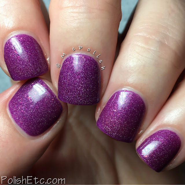 Ellagee - Three Years of Sparkle Collection - McPolish - Plum Foolery