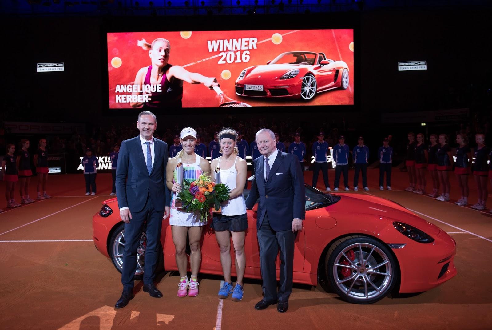 Mit Rado Als Vip Zum Porsche Tennis Grand Prix Tennisnetcom