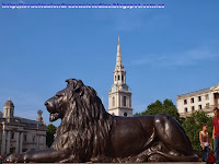Torre de St. Martin in the Fields en Trafalgar Square