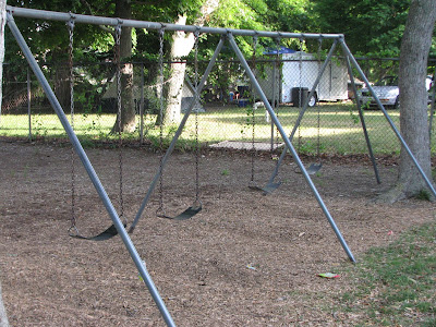 Swings at East Falmouth Elementary School