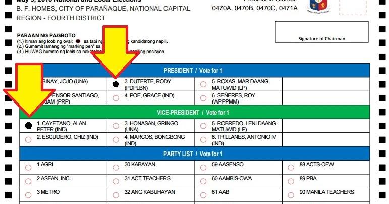 Thinking Pinoy: Make your vote count! Ganito ang Paraan ng ...