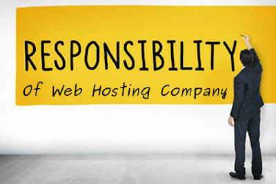 Responsibilities of Web Hosting companies